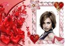 Kocham cię Valentine serca