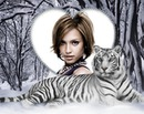 Winter Tiger Hjerte ♥