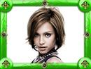 Jewel frame Green
