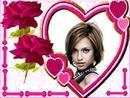 Coeur ♥ roses