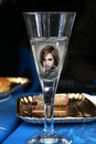 Scenos šampanas fleita