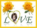 Yellow Roses Love Heart ♥