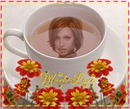 Teacup Much love Fiori