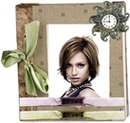 Photo album cover Bow Clock