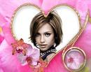 Corazón Anillo Orquídea rosa ♥