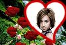 Corazón ♥ rosas rojas