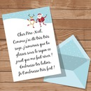 Carta a Santa Claus personalizable