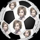Futebol 6 com imagens personalizadas e PNG texto