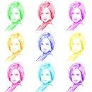 Mosaico colorado 9 fotografias