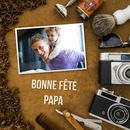 Fars dag, pappa bra fest, customizable text och foto