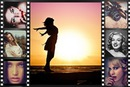 Movie filmstrip 7 bilder