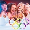 Juegos olímpicos de invierno Anillos colores LGBT