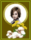 Moutons Fleurs jaunes