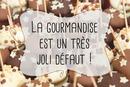 Sucettes au chocolat Message gourmand