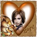 ♥ Apkabinimai Širdies Voverės