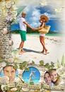 Vacances, plage et coquillages