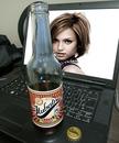 Laptop Beer Scene