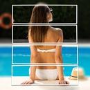 Συγκόλληση μία εικόνα με οριζόντιες ρίγες