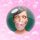Burbujas rosa