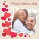 corações quadrados e pouco Valentine Fotos