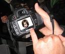 Scene displej fotoaparátu