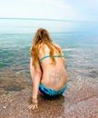 Татуировка на гърба на едно момиче
