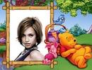 Cadre enfant Winnie l'ourson