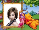 Marco infantil Winnie the pooh
