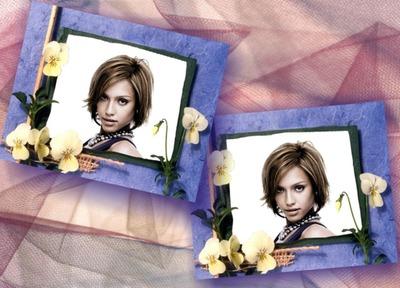 Fleurs 2 photos