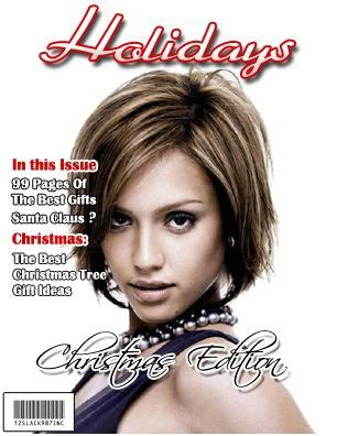 Tapa de revista Holidays