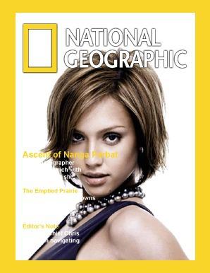 Tapa de revista National Geographic
