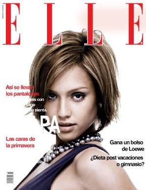 Tapa de revista Elle