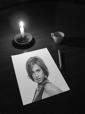 Desk Sheet Candle