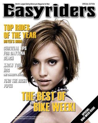 Tapa de revista moto Easyriders