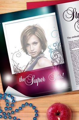 Tapa de revista Super Star