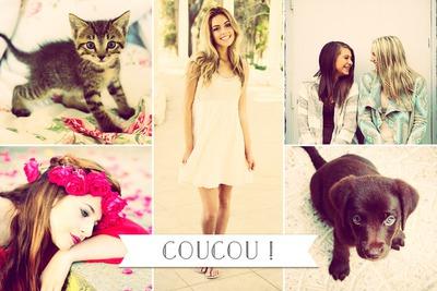 Collage 5 fotos y mensajes cortos