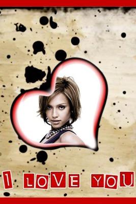 Corazón I love you Manchas tinta ♥
