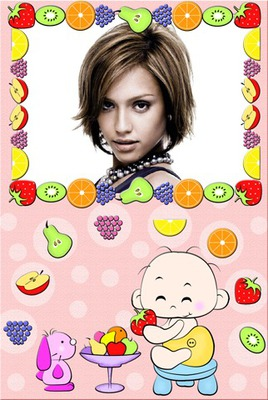 Tutti frutti bambino Frutta Dog