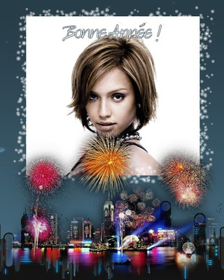 Feliz ano Novo Reveillon Fogos de artifício