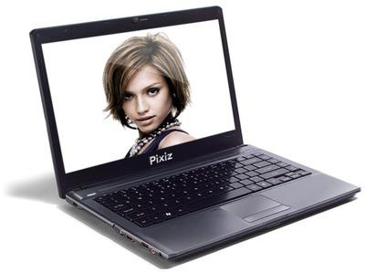 Montage photo ordinateur portable laptop pixiz for Ordinateur pour montage photo