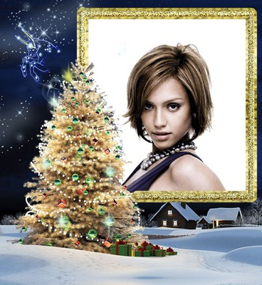 Navidad Abeto decorado Regalos