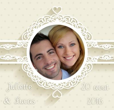 faire part de mariage - Pixiz Montage Mariage
