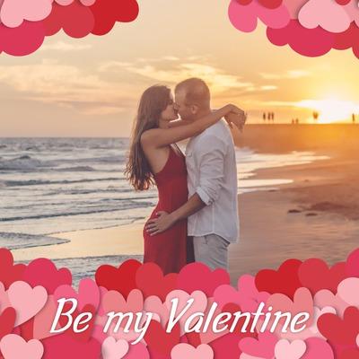 Et bjerg af små hjerter til Valentinsdag