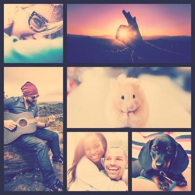 collage cuadrado 6 fotos