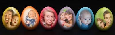 6 húsvéti tojások 6 fotók belül