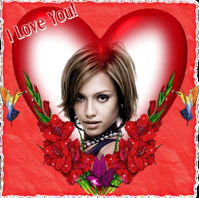 Corazón rojo ♥ I love you
