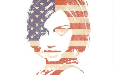 Bandera americana Vintage USA