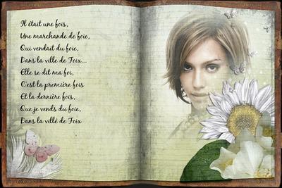 Texto y fotografia sobre libro