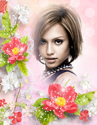 Flores rosas San Valentin