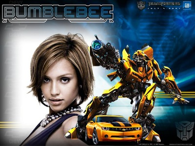 Marco infantil Transformers Bumblebee